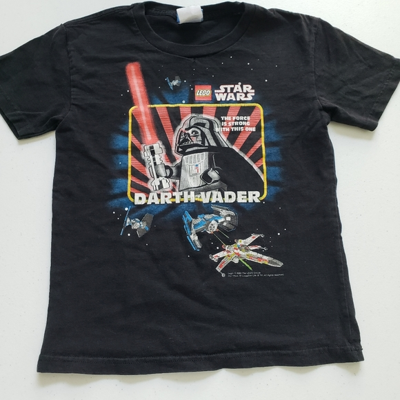 Lego Star Wars The Force Is Strong Boy/'s T-Shirt